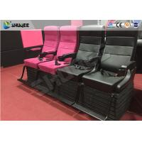 Quality Electric Chairs 4D Cinema System , Customized Seats Number 5 Effects wholesale