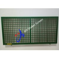 China PT Steel Frame Swaco Mongoose Shaker Screen , Oil Vibrating Sieving Mesh on sale