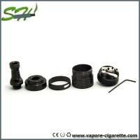 Cheap Mini Black Helio rda rebuildable dripping atomizer Stainless Steel 510 Style for sale