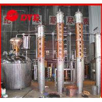 Quality Scotch Whiskey Copper Distiller , Commercial Distilling Equipment wholesale
