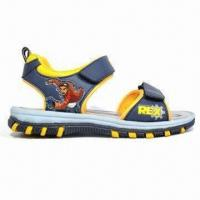Quality Children's Sandals with PU Upper, TPR Outsole and Mesh Lining wholesale
