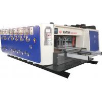 Buy cheap High Speed Flexo Printing Slotting / Die Cutting Machine Three Color from wholesalers