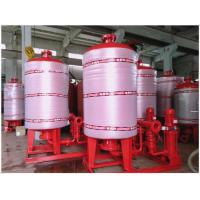 Quality Stainless Steel 304 / 316 Diaphragm Water System Pressure Tank With Polishing Treatment wholesale