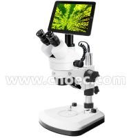 Quality WF10X - 20mm Electron Digital LCD Microscope LED Illumination Microscope A36.0902 + A59.3503 wholesale