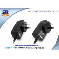 Quality 1.5m DC Cable Wall Mount Power Adapter 12V RCM Certificated With Black Color wholesale