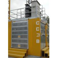 3 Doors Rack And Pinion Hoist SC200/200BG For Man / Material Transportation