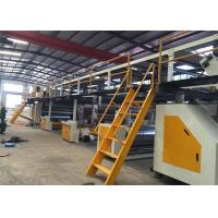 China 5 Layers Corrugated Cardboard Production Line Fully Automatic 1 Year Warranty on sale