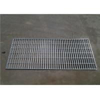 Quality Workshop Platform Galvanized Walkway Grating , Silver Color Floor Mesh Grating wholesale