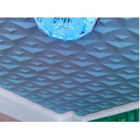 Quality Ceiling 3D Wall Art PVC Wall Panels Embossed Wall Decals Modern 3D Wall Background for Sofa wholesale