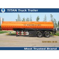 Quality Diesel fuel gasoline tank trailer with 30000 liters - 42000 liters capacity wholesale