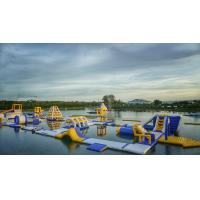 Quality BALI Giant Inflatable Floating Water Parks Manufacturer / Bouncia Aqua Park wholesale