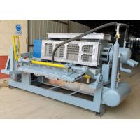 Quality Automatic Egg Box Making Machine Pulp Molding PLC Controlled Custermized Mold wholesale