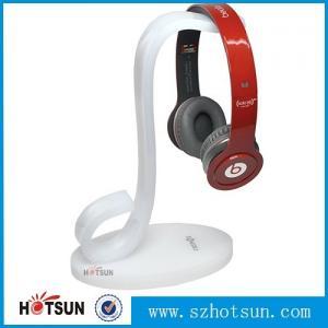 Cheap High quality earphones holder,custom made clear acrylic earphones holder for sale