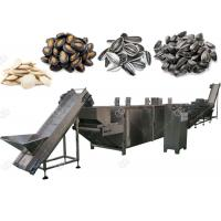Cheap Automatic Nuts Roasting Machine For Pumpkin And Watermelon Seeds , 300-1000 Kg / H for sale