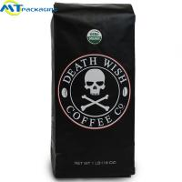 Quality Moisture Proof Sealed Coffee Bags Laminated Material With Large Capacity wholesale