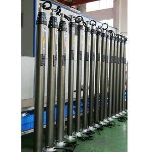 Quality 6.2m emergency lighting tower mast/ pneumatic telescopic lighting mast wholesale
