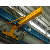 Quality Compacted Frame Wall Traveling Truck Jib Cranes For Fitting & Fabrication Workstation wholesale