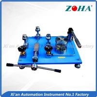 Quality Desktop Pressure Gauge Calibration Equipment For Manual Hydraulic Pump wholesale