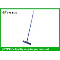 Quality Commercial Floor Squeegee , Rubber Floor Squeegee With Handle Customized Color wholesale