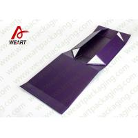 UV Coated Automatic Foldable Paper Boxes Gift Packaging With Magnets