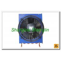 China Hot Water Φ12.7mm Copper Tube Air Cooled Heat Exchangers Include Fan on sale