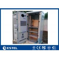 China DC Air Conditioner Outdoor Equipment Cabinet One Front Door With Three Layer Battery on sale