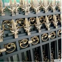 Quality Outdoor Aluminum Garden Fencing Custom Designed Decorative Security and Privacy Luxury wholesale