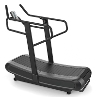 Quality Cardio Woodway Curve Commercial Gym Treadmill Striped Running Belt Anti Slip wholesale
