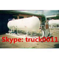 China 120,000L mobile skid-mounted lpg gas refilling plant for 1-150kgs steel gas cylinders, skid lpg gas station for sale on sale