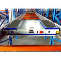 Buy cheap Anti Rust Adjustable Durable Shuttle Pallet Racking With Pallet Runner product