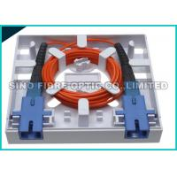Quality CATV Network Fiber Optic Distribution Panel SC Outdoor Terminal Box 750N Shock Resistance wholesale