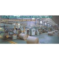 Quality Packing 5 Ply Corrugated Cardboard Production Line Machinery (5785) wholesale