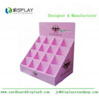 Quality Shop Retail Table Top Cosmetic Display Stand Cardboard Customized Size wholesale