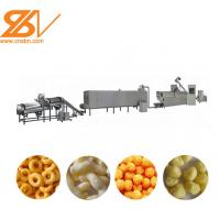 Quality 70KW Corn Puff Making Machine Stainless Steel Snack Production Line wholesale