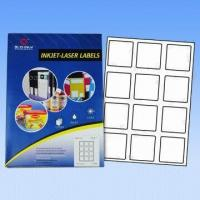 Quality A4 Computer Labels/Avery Labels, Used for Lasers and Inkjet Printers, Customized Sizes Accepted wholesale