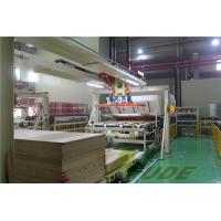 China Single Layer PB / MDF Board Laminating Line , Hot Press Lamination Machine on sale