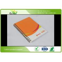 Quality Glossy Lamination A5 Spiral Bound Notebook With 4C Full Colors CMYK Printing wholesale