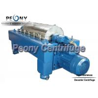 Quality Full Automatic Horizontal Style Decanter Centrifuges with SS Drum, for Dewatering wholesale