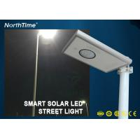 Quality Infrared Body Sensor Solar luminaires Solar Powered Road Lights All in One Pole wholesale