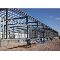 Quality Long Life Steel Structure Warehouse Easy Build With Roller / Sliding Door wholesale