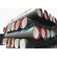 China Heat Treatment Ductile Iron Pipe Cement Lined K789 Or C253040 Class 450mm on sale