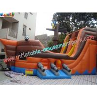 Quality Durable Adult PVC tarpaulin Inflatable Slide Large for rent, re-sale, commercial, home-use wholesale