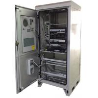 Quality Weatherproof Outdoor Electrical Enclosures Cabinets , European Standard Outdoor Server Cabinet wholesale