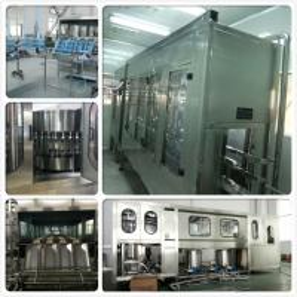 Automatic 100-5000BPH Single / double nozzle drinking water filling machine for pet bottle / glass bottle