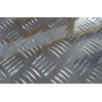 Quality Bright Surface Five Bars Aluminium Checker Plate Sheet 5052 Checker Plate Anti Slip Plate wholesale
