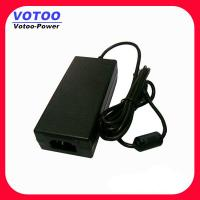 Quality AC DC Power Supply 12V 4A POS Terminal Power Adapter With Right Angle DC Plug wholesale