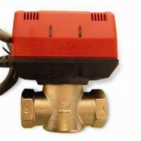 Quality Motorized Valve with Feature Removable Head, Usually Applied to Control Water Valve of HVAC System wholesale