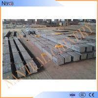 Quality Straight Smooth Steel Crane Rail , Q345B Square Billet With Spary Painting wholesale