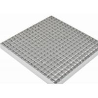 Quality Stainless Steel Grating Walkway40mm Bearing Bar Pitch Twisted / Round Bar wholesale