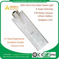 Buy cheap Top Manufacturer Integrated LED Solar Street Light for Outdoor Lighting product